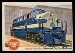 1955 Topps Rails & Sails #36   Diesel Switcher Front Thumbnail