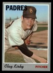 1970 Topps #79  Clay Kirby  Front Thumbnail
