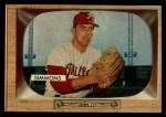 1955 Bowman #64  Curt Simmons  Front Thumbnail