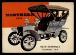 1954 Topps World on Wheels #77   Northern Rear Entrance Touring 1904 Front Thumbnail