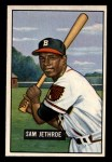 1951 Bowman #242  Sam Jethroe  Front Thumbnail