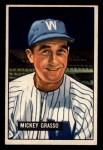 1951 Bowman #205  Mickey Grasso  Front Thumbnail