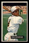 1951 Bowman #245  John Berardino  Front Thumbnail