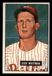 1951 Bowman #221  Dick Whitman  Front Thumbnail