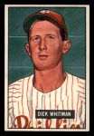 1951 Bowman #221  Dick Whitman  Front Thumbnail