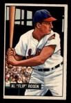 1951 Bowman #187  Al Rosen  Front Thumbnail