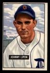 1951 Bowman #285  John Lipon  Front Thumbnail