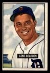 1951 Bowman #284  Gene Bearden  Front Thumbnail