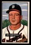 1951 Bowman #277  Roy Hartsfield  Front Thumbnail