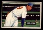 1951 Bowman #231  Luis Aloma  Front Thumbnail
