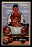 1951 Bowman #20  Del Crandall  Front Thumbnail