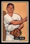 1951 Bowman #78  Early Wynn  Front Thumbnail