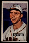 1951 Bowman #67  Roy Sievers  Front Thumbnail