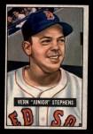 1951 Bowman #92  Junior Stephens  Front Thumbnail