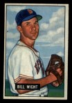 1951 Bowman #164  Bill Wight  Front Thumbnail