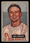 1951 Bowman #51  Andy Seminick  Front Thumbnail