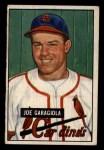 1951 Bowman #122  Joe Garagiola  Front Thumbnail