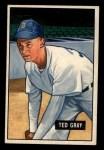1951 Bowman #178  Ted Gray  Front Thumbnail