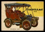 1954 Topps World on Wheels #56   Cadillac Touring Car 1906 Front Thumbnail