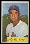 1954 Bowman #178  Del Wilber  Front Thumbnail