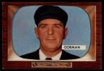 1955 Bowman #293  Tom Gorman  Front Thumbnail
