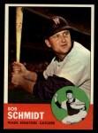 1963 Topps #94  Bob Schmidt  Front Thumbnail
