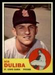 1963 Topps #97  Bob Duliba  Front Thumbnail