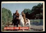 1956 Topps Davy Crockett #7 ORG  Alerted For Danger  Front Thumbnail