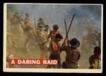 1956 Topps Davy Crockett #11 ORG  Daring Raid  Front Thumbnail