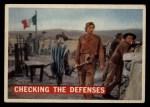 1956 Topps Davy Crockett #64 ORG  Checking The Defenses  Front Thumbnail