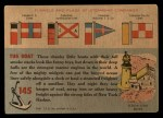 1955 Topps Rails & Sails #145   Anne Morgan Back Thumbnail