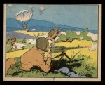 1941 Gum Inc. Uncle Sam Home Defense #51   Parachute Attack Front Thumbnail