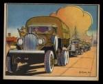 1941 Gum Inc. Uncle Sam Home Defense #62   Motor Convoy Drivers Front Thumbnail