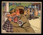 1941 Gum Inc. Uncle Sam Home Defense #102   Women's Duties Front Thumbnail