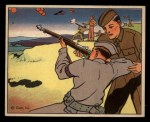 1941 Gum Inc. Uncle Sam Home Defense #105   Home Guard Rifle Practice Front Thumbnail