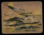 1941 Gum Inc. Uncle Sam Home Defense #46   Torpedo Bombing Front Thumbnail