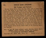 1941 Gum Inc. Uncle Sam Home Defense #52   Ski Troops And Patrols Back Thumbnail