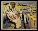 1941 Gum Inc. Uncle Sam Home Defense #87   Trench Construction Front Thumbnail
