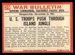1965 Philadelphia War Bulletin #29   Unseen Death Back Thumbnail