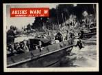 1965 Philadelphia War Bulletin #84   Aussies Wade In Front Thumbnail