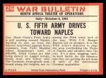 1965 Philadelphia War Bulletin #26   Inch by Inch Back Thumbnail