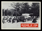 1965 Philadelphia War Bulletin #18   Blizzard of Steel Front Thumbnail