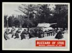 1965 Philadelphia War Bulletin #18   Blizzard of Steel Front Thumbnail