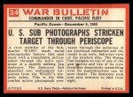 1965 Philadelphia War Bulletin #34   One Less Jap Back Thumbnail