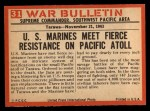 1965 Philadelphia War Bulletin #31   Passing the Ammo Back Thumbnail