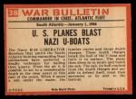 1965 Philadelphia War Bulletin #38   Killing Killer Back Thumbnail