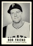 1960 Leaf #53  Bob Friend  Front Thumbnail