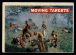 1956 Topps Davy Crockett #13 ORG  Moving Target  Front Thumbnail