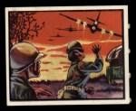 1950 Topps Freedoms War #35   Village Attack   Front Thumbnail