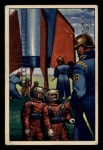 1951 Bowman Jets Rockets and Spacemen #27   Detained by Martians Front Thumbnail